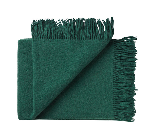 Silkeborg Uldspinderi ApS Athen Throw 130x200 cm Throw 3610 Botanic Green