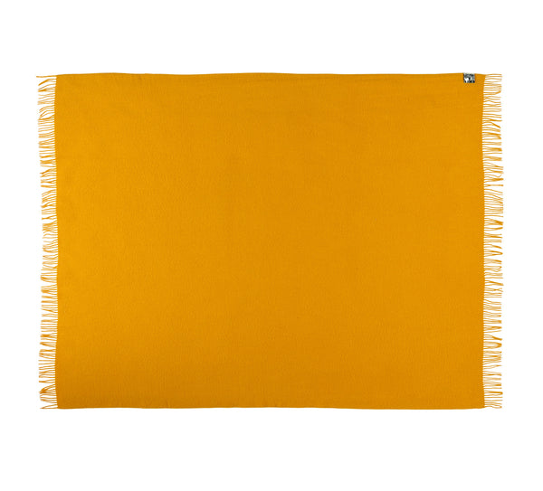 Silkeborg Uldspinderi ApS Athen Throw 130x200 cm Throw 4201 Sunflower Yellow