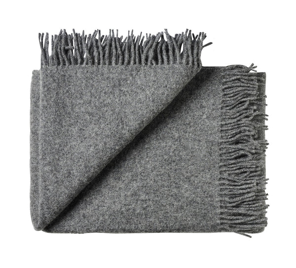 Silkeborg Uldspinderi ApS Athen Throw 130x200 cm Throw 0116 Dark Nordic Grey
