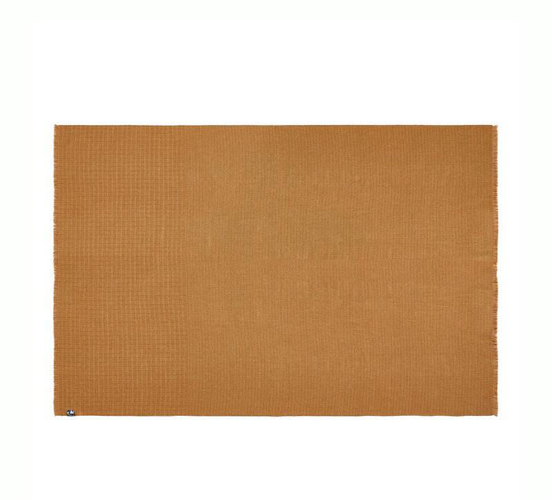 Silkeborg Uldspinderi ApS Cumulus 130x200 cm Throw 1825 Mustard and Honey