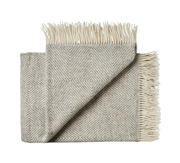 Silkeborg Uldspinderi ApS Fanø Throw 85x130 cm Throw 0109 Light Nordic Grey
