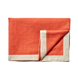 Silkeborg Uldspinderi ApS Mendoza 130x180 cm Throw Pumpkin Orange 0707