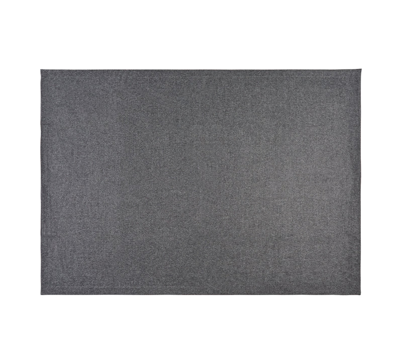Silkeborg Uldspinderi ApS Mendoza 180x220 cm Throw Dark Grey 0403