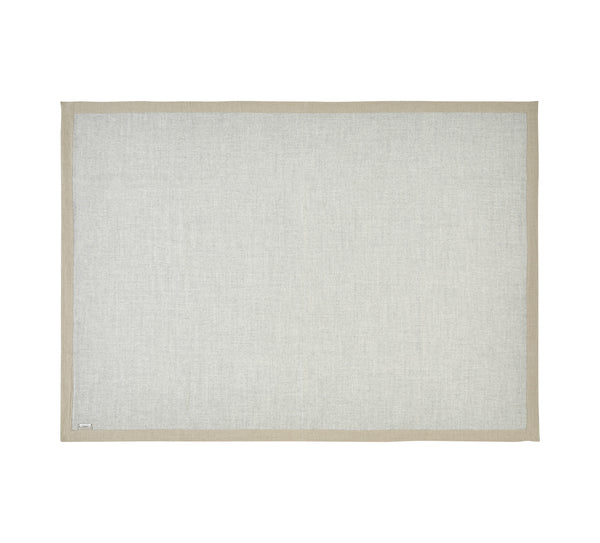 Silkeborg Uldspinderi ApS Mendoza 180x220 cm Throw Light Grey 0434