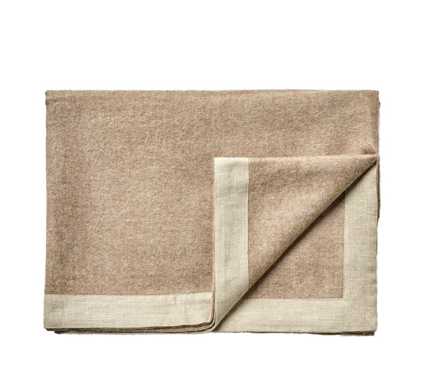 Silkeborg Uldspinderi ApS Mendoza Throw 180x220 cm Blanket 0284 Walnut Brown