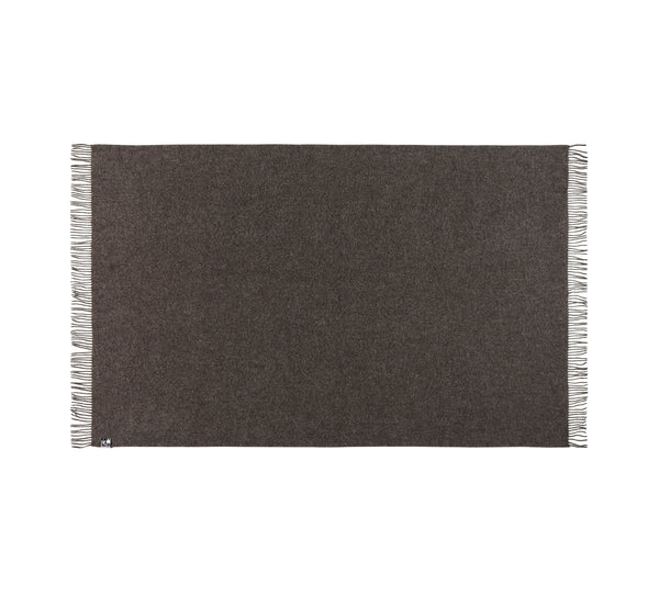 Silkeborg Uldspinderi ApS Oxford Throw 140x240 cm Throw 0409 Dark Grey