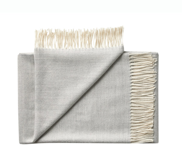 Silkeborg Uldspinderi ApS Panama Throw 140x250 cm Throw 2546 Grey Sand