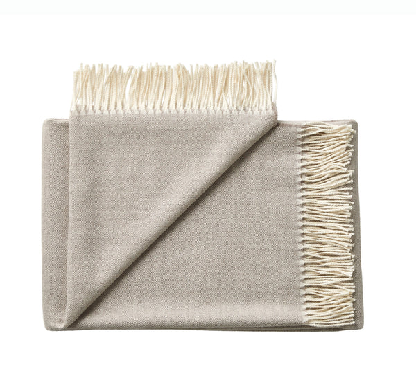 Silkeborg Uldspinderi ApS Panama Throw 140x250 cm Throw 3232 Grey Bark