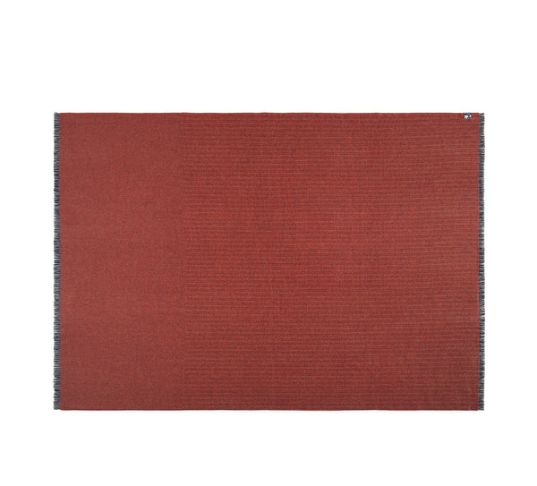 Silkeborg Uldspinderi ApS Pine 130x200 cm Throw 1667 Blue Terracotta