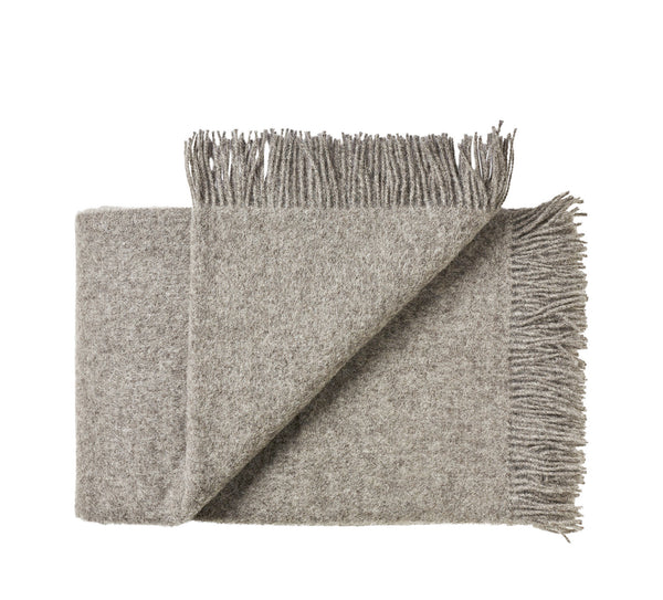 Silkeborg Uldspinderi ApS Samsø Throw 140x240 cm Throw 0115 Nordic Grey