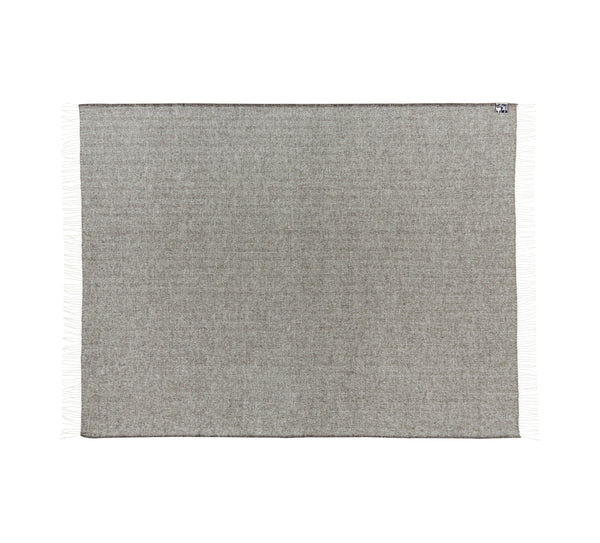 Silkeborg Uldspinderi ApS Sevilla Throw 130x190 cm Throw 5154 Medium Grey