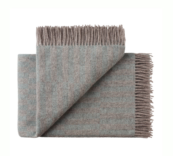 Silkeborg Uldspinderi ApS Stockholm Throw 130x200 cm Throw 0821 Stone Blue