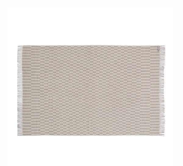 Silkeborg Uldspinderi ApS Stockholm 130x200 cm Throw 0820 Grey/White