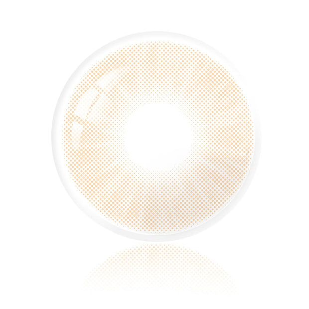 HIDROCOR Ochre Contact Lenses