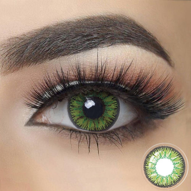 NONNO Green Contact Lenses