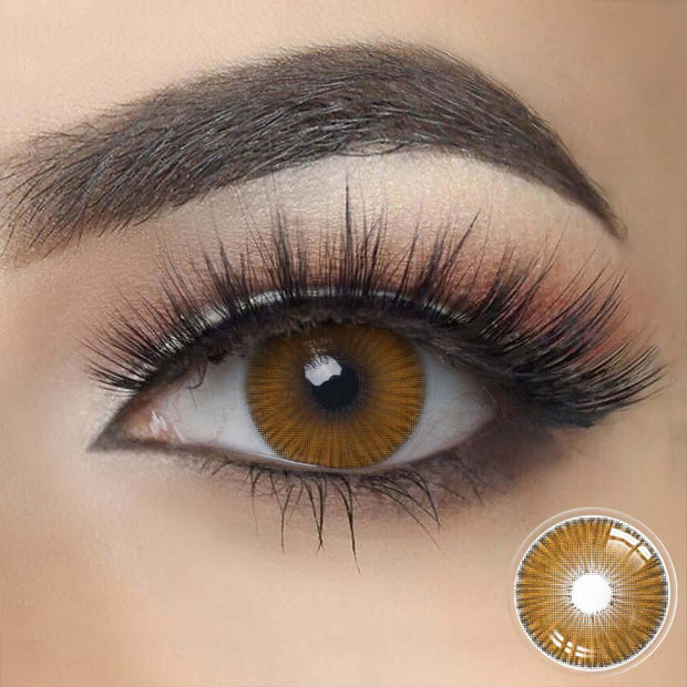 FIESTA Brown Contact Lenses