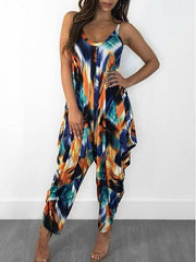Women Slip Sleevelee Floral Printed Sets