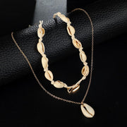 Simple Style Shell Necklace Bracelet Wholesale Cheap Jewelry