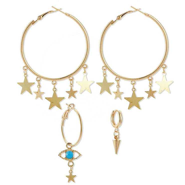 Tassel Temperament Asymmetric Earrings Wholesale Cheap Jewelry