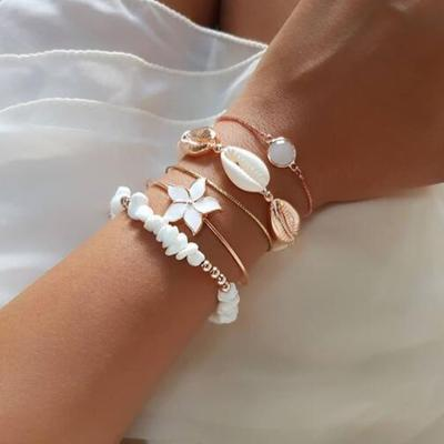 Simple Retro Shell Bracelet Wholesale Cheap Jewelry
