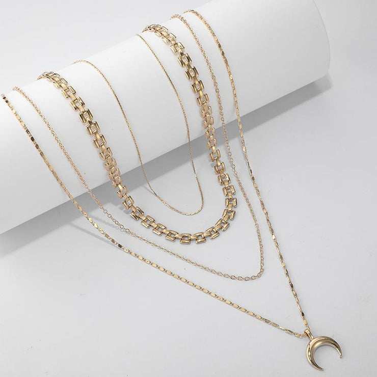Moon Necklace Wholesale Cheap Jewelry