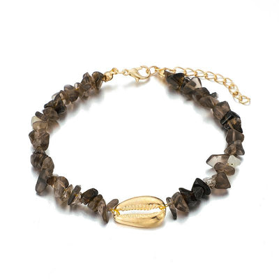 Bohemian Gravel Shell Anklet Wholesale Cheap Jewelry