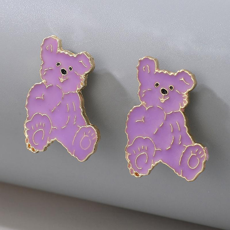 Bear Earrings Wholesale Cheap Jewelry