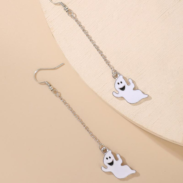 Exaggerated Ghost Personality Earrings Wholesale Cheap Jewelry