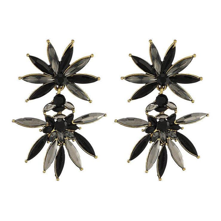 Exaggerated Flowers Earrings Wholesale Cheap Jewelry
