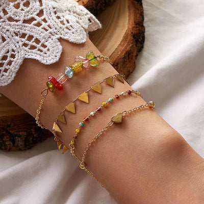 Bohemian Love National Color Bracelet Wholesale Cheap Jewelry