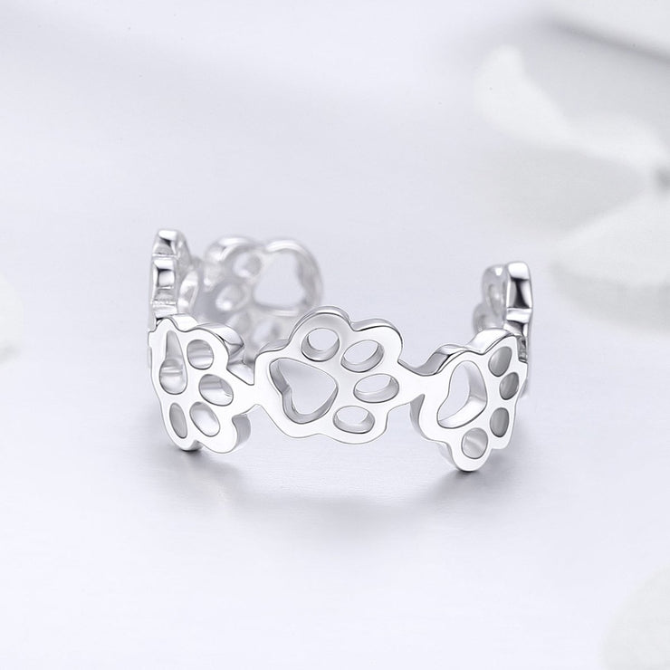 Sterling Silver Gentle Temperament Ring