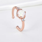 Women Fashion Jewelry 925 Sterling Silver Gemstone Rings