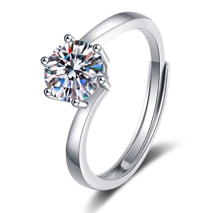 Women Fashion Jewelry 925 Sterling Silver CZ Rings Toe Rings