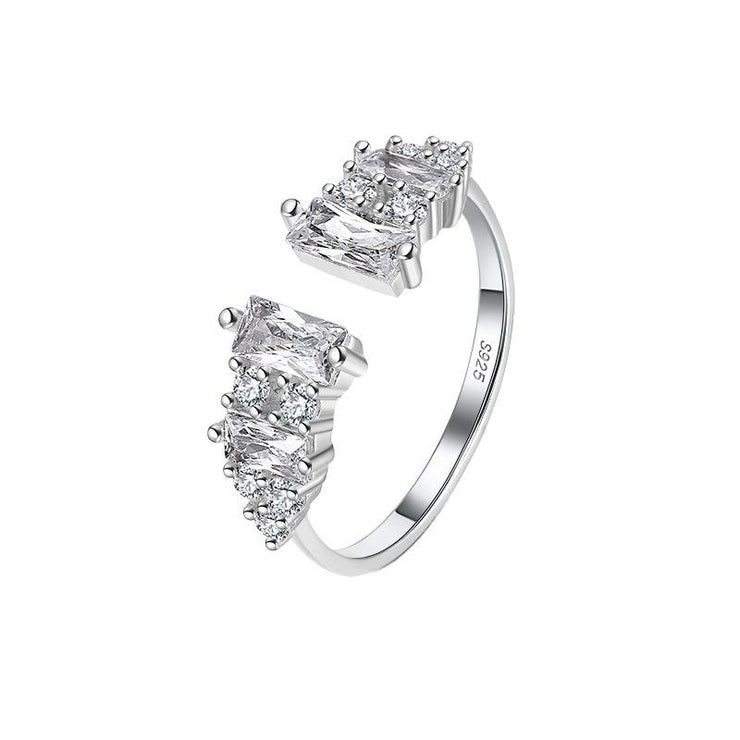 925 Sterling Silver CZ Toe Ring