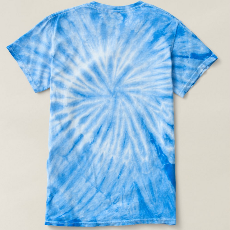 Unisex Cyclone Tie-Dye T-Shirt-Because Quarantine