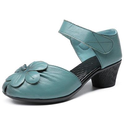 Women's Candy-colored Fish Mouth Casual Sandals