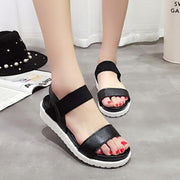 Women Peep-toe platform sandals