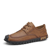 Men's Fashion Lace Up Leather Casual Shoes