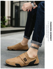 Men's Casual Loafers Leather Shoes