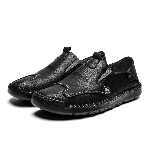 Men's Fashion Loafers Leather Shoes
