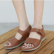 Women's car line seaside resort beach sandals slip