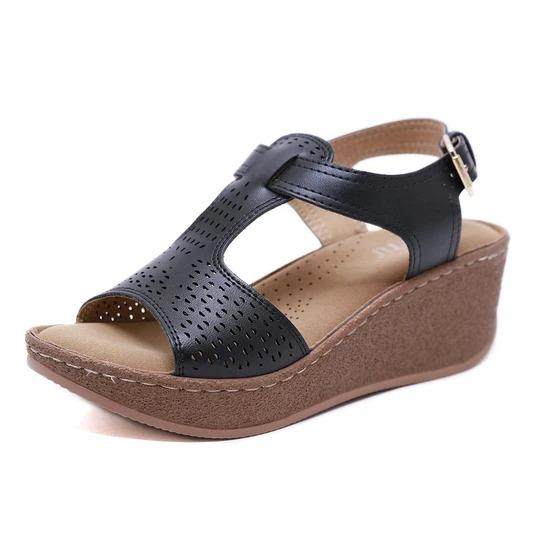 Women's leisure slope lightweight comfortable seaside resort beach sandals