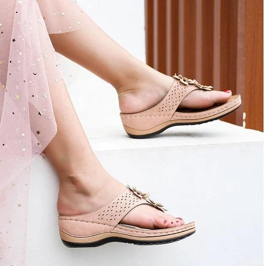 Women Styles Cute Floral  Sandals
