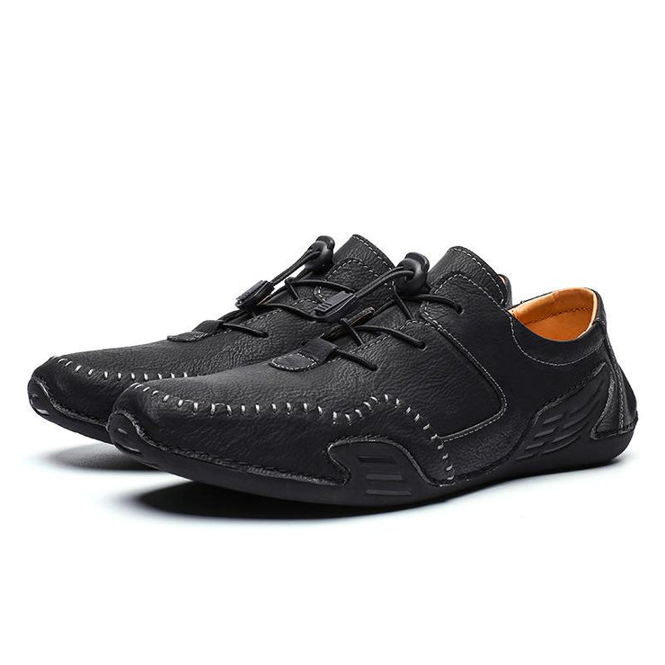 Men's Fashion Trend Handmade Casual Original Lace up Shoes