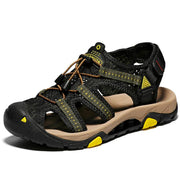 Men's Fashion Casual Non-slip Beach Lace up Sandals