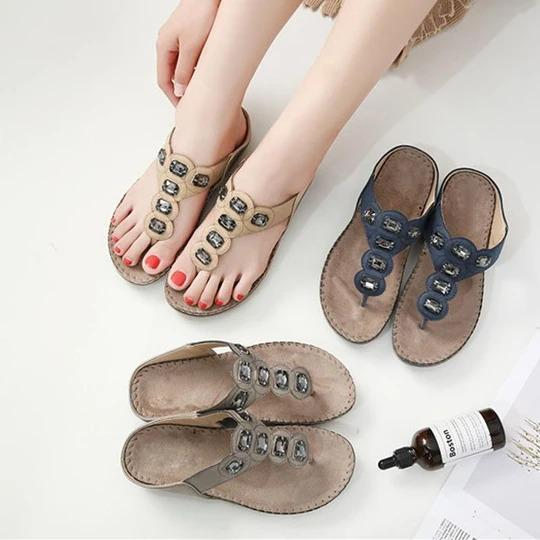 Women Summer Sandals T Strap Flip Flops Thong Sandals Designer Band Ladies Gladiator Sandal Shoes Pantoufle Femme Zapatos Mujer