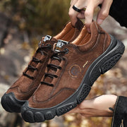 Men's Casual Leather Non Slip Outdoor Shoes