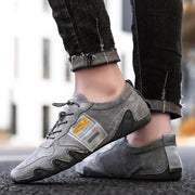Men's Casual Outdoor Leather Comfortable Sneakers