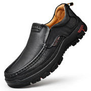 Men Non Slip Outdoor Casual Leather Shoes