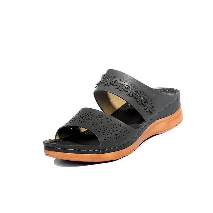 Women Comfortable Open Toe Casual Wedges Sandals